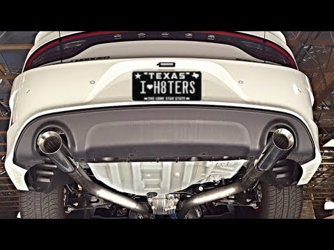 WHAT'S THE BEST EXHAUST FOR A V6 DODGE CHARGER