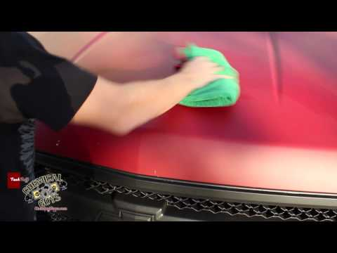 How To Quick Detail Plasti-Dip Cars - Meticulous Matte Detailer - Chemical Guys Car Care