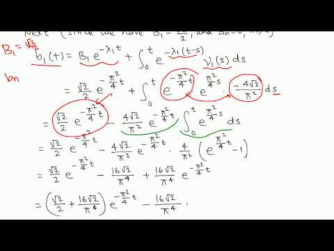 Diff Eqn: Nonhomogeneous  heat conduction problem example 1