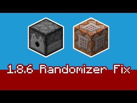 Minecraft 1.8.6 Dispenser Randomizer Fix - MCEdit Filter