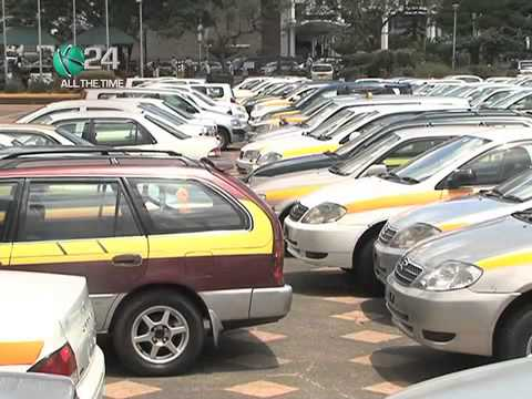 200 Taxis Impounded, Number Plates Confiscated During The Matatu Strike