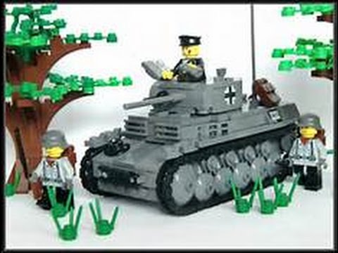 WWII Lego animation by Lee Jefferies