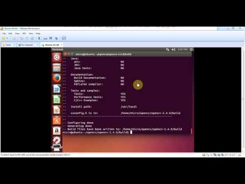 Install OpenCV on ubuntu and OpenCV HelloWorld