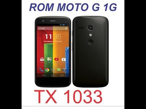 INSTALANDO ROM MOTO G 1 XT 1033 (KIT KAT 4.4.4)