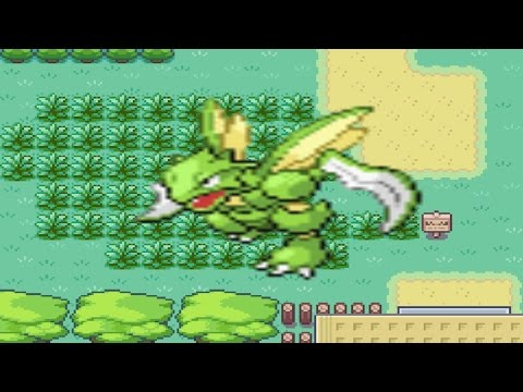 How to find Scyther in Pokemon Fire Red