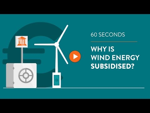 Why is wind energy subsidised? - IN 60 SECONDS