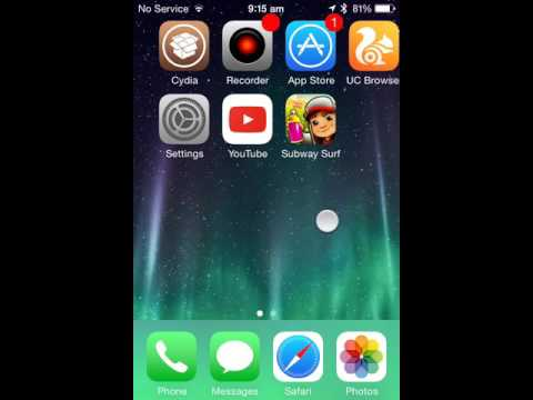 Hack iPhone game credit with jail broken device