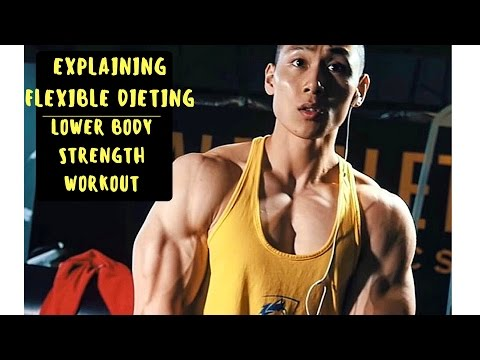 DIFFERENCE BETWEEN GOOD & BAD CALORIES | LOWER BODY STRENGTH WORKOUT
