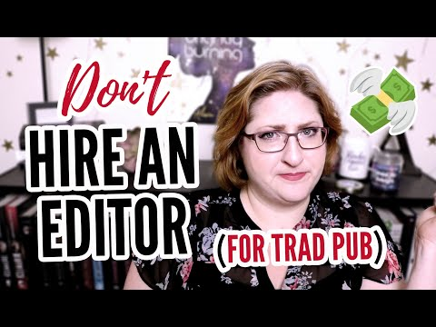 SMALL RANT: Do You Need To Hire An Editor Before Querying? (NO!)