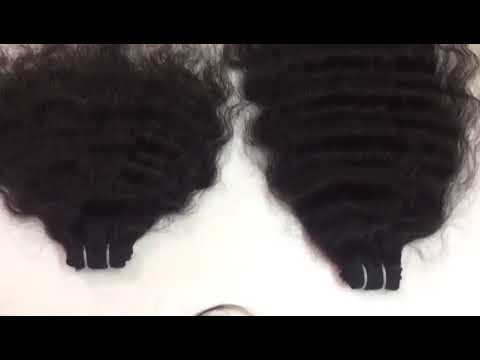 Indian Remy Curly Hair Weave  | Spring Curl Remy Human Hair Weave