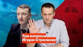 Три вопроса Игорю Стрелкову