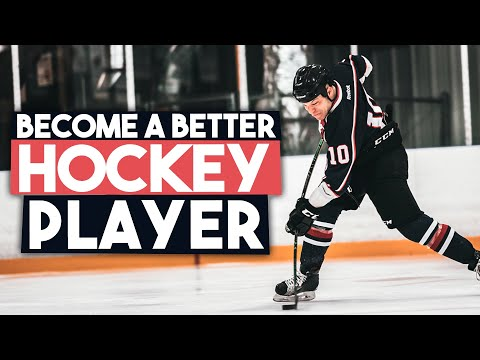 4 Ways To Become a Better Hockey Player