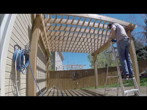 How To Clean And Seal A Cedar Pergola | THE HANDYMAN