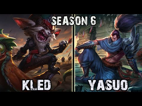 Kled vs Yasuo TOP Ranked Challenger Korea