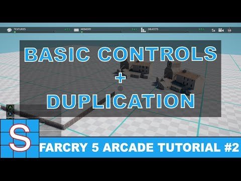 FARCRY 5 Map Editor Tutorial #2 | Basic Controls & Duplicating