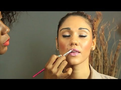 How to Keep Your Lips From Getting White Residue With Lipstick : Lipstick & Lip Liner
