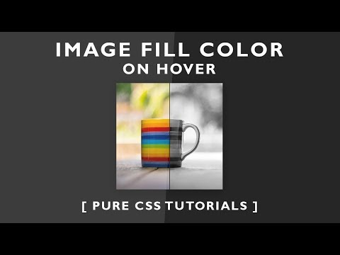 Image Fill Color On Hover - Css3 Image Hover Effects - Change Image Color On Hover