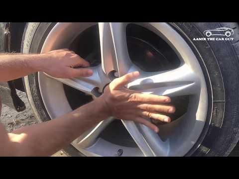 How to change a wheel (Alloy Rim) center cap