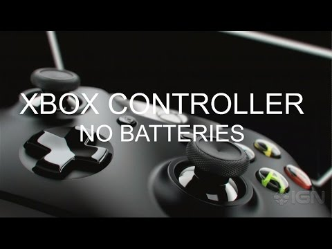 How To Use An XBOX ONE Controller Without Any Batteries   HD