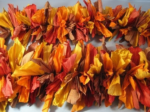 Fall Harvest Garland ~ Featuring Miriam Joy