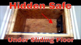 Very Cool Secret Hidden Safe Under Sliding Floor