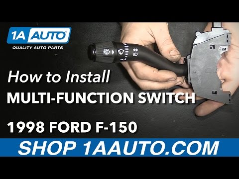 How to Install Replace Turn Signal Wiper Switch Lever 1998 Ford F-150