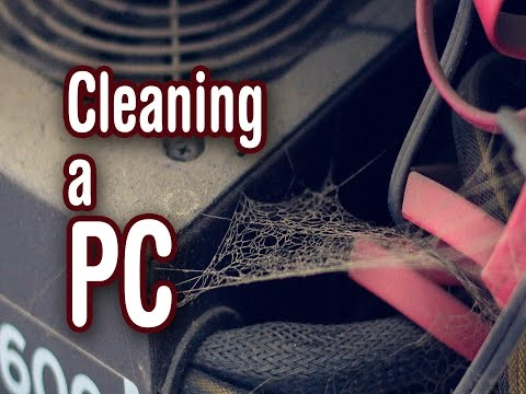 Cleaning up a dusty PC
