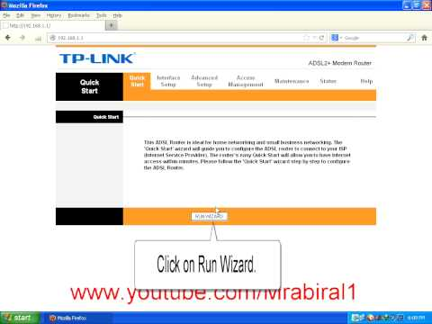 How to Configure TP LINK Adsl Router