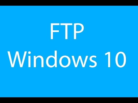 How to Setup an FTP Server in Windows 10 - AvoidErrors