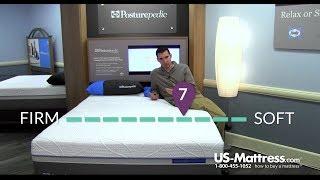 Sealy Posturepedic Hybrid Silver Plush Mattress