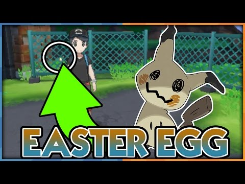 MIMIKYU EASTER EGG IN POKEMON SUN AND MOON! Pokemon Sun and Moon Mimikyu Easter Egg Found!