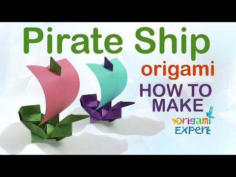 How to Make Origami Boat Easy