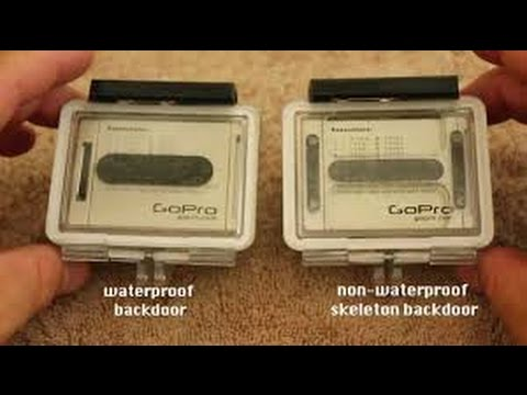 How To Change Your Back Door On GoPro Hero 3