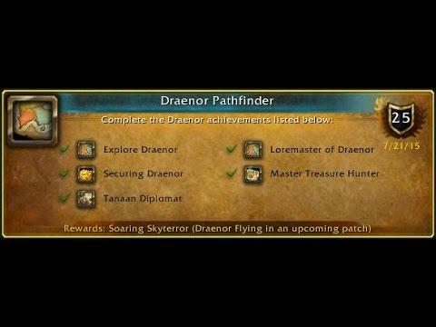 Wow Draenor Pathfinder English Part 1