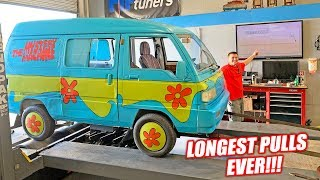 Dynoing the Mystery Machine! Officially our LOWEST HORSEPOWER Dyno Record LOL!