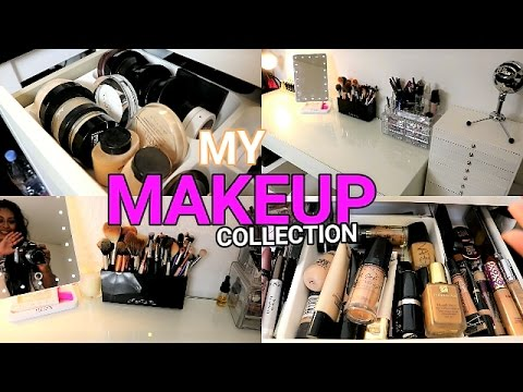MY MAKEUP COLLECTION & VANITY AREA | Anoushka