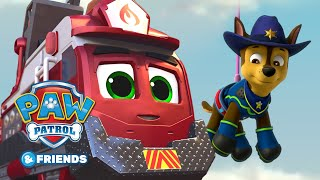 PAW Patrol and Mighty Express Save the Party! Cartoon Compilation 59 PAW Patrol & Friends