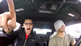 I Took my BROTHER on a BLINDFOLDED JOYRIDE in my Dodge Challenger!