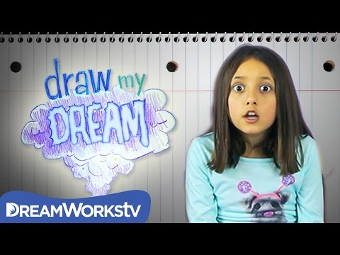 Skylander Girl and the Candy Land Monster | DRAW MY DREAM