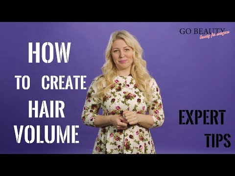 How To Create HAIR VOLUME AT ROOTS at home? Useful tips from Zhanna Padalka