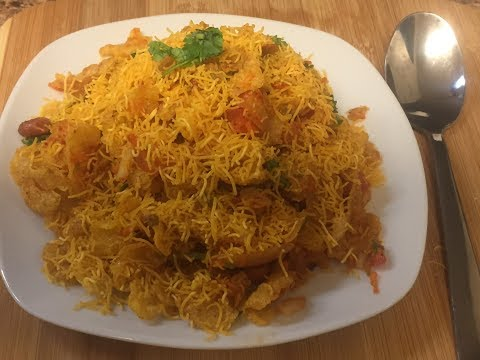 Cornflakes chaat recipe/corflakes bhel recipe/spicy corn flakes chat