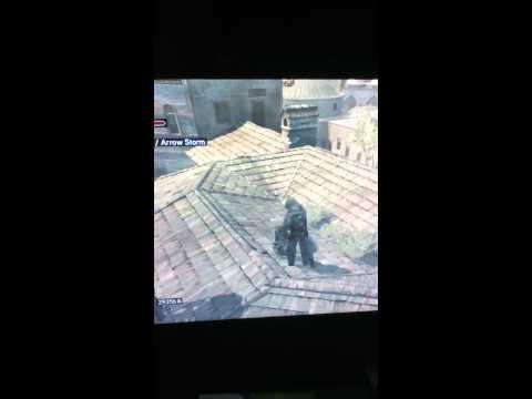 Assassin's Creed Revelations - Funny falling man glitch