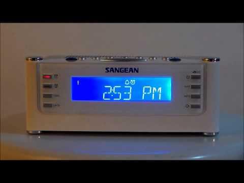 Sangean RCR-22 AM/FM Atomic Clock Radio
