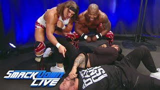 Gable & Benjamin have a Royal Rumble prediction for The Usos: SmackDown LIVE, Jan. 16, 2018