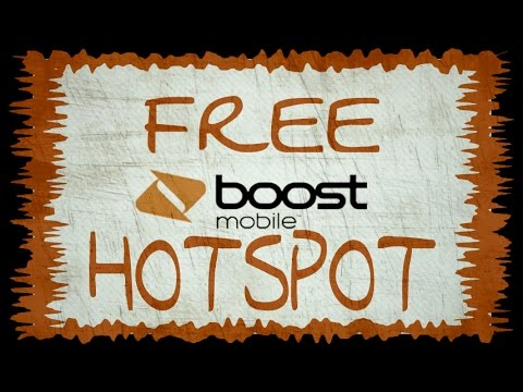 Unlimited FREE Mobile Hotspot-Boost Mobile and Virgin Mobile Unlock! No Root!