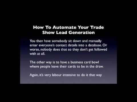 Trade Show Marketing - How To Market Using Trade Shows