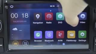 Xtrons PF75QSFA-B | Android 5 1 Lollipop Driving Entertainment