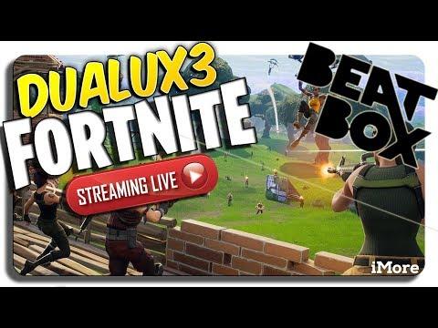 DUALUX3 LIVE Fortnite Beatboxing!!