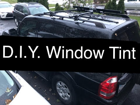 How to Tint your Car Windows for $20 like a PRO!
