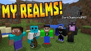 Join my REALM in mcpe | Minecraft Pocket Edition Realms #3 (Aquatic
